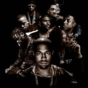 Image for 'Kanye West, Gucci Mane, Big Sean, 2 Chainz, Travis Scott, Yo Gotti, Quavo & Desiigner'