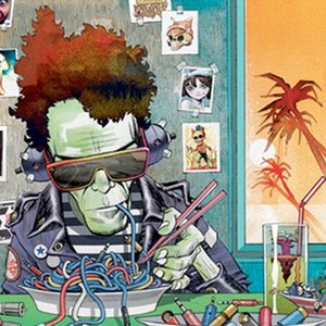Image for 'Gorillaz & Lou Reed'