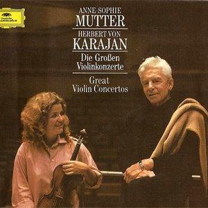 Image for 'Anne-Sophie Mutter, Berliner Philharmoniker & Herbert von Karajan'