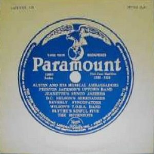 Imagen de 'Dave Nelson's Paramount Serenaders'