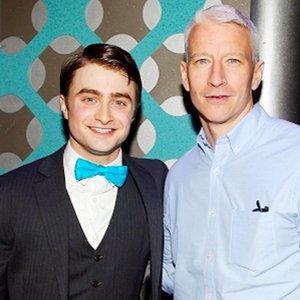 Imagem de 'Anderson Cooper & Daniel Radcliffe'