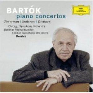 Image for 'Leif Ove Andsnes; Pierre Boulez: Berlin Philharmonic Orchestra'