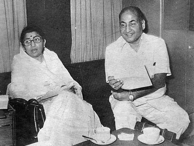 Mohammed Rafi & Lata Mangeshkar