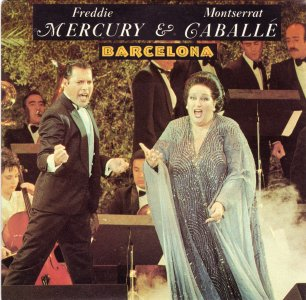 Freddie Mercury And Montserrat Caballe
