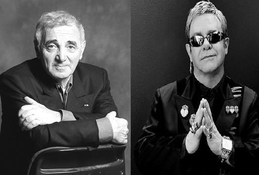 Charles Aznavour & Elton John