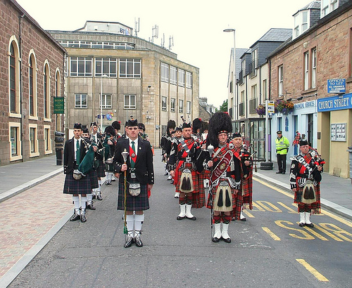 The Auld Town Band & Pipes
